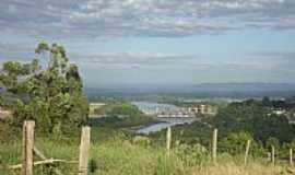 Bom Retiro do Sul - Bom Retiro do Sul-RS-Vista da Barragem Eclusa-Foto:Elton Silveira