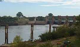 Bom Retiro do Sul - Bom Retiro do Sul-RS-Vista da Barragem Eclusa-Foto:Levi Vladimir Both