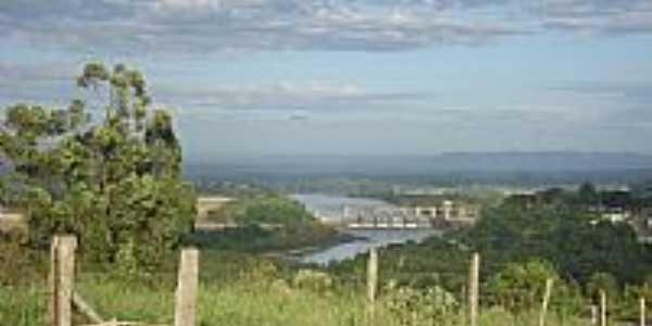 Bom Retiro do Sul-RS-Vista da Barragem Eclusa-Foto:Elton Silveira