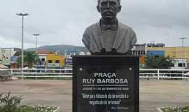 Jequi� - Jequi�-BA-Busto de Ruy Barbosa-Foto:MARCELO S F