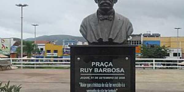 Jequié-BA-Busto de Ruy Barbosa-Foto:MARCELO S F