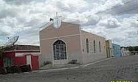 Dois Riachos - Igreja de N.Sra.da Sa�de-Foto:Sergio Falcetti