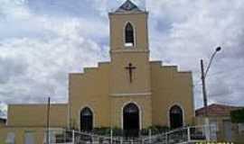 Dois Riachos - Igreja de São Sebastião-Foto:Sergio Falcetti