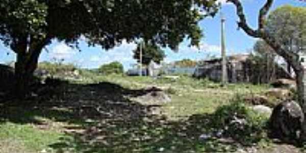Dois Riachos-AL-Imagem da região da Pedra de Padre Cícero-Foto:Luiz Sávio de Almeida.