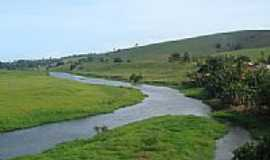 Jiquiri�� - O rio na paisagem de Jiquiri�a-BA-Foto:Marcelo S F