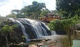 Jiquiriçá - Véu da Noiva da Cachoeira dos Prazeres em Jiquiriça-BA-Foto:Marcelo S F