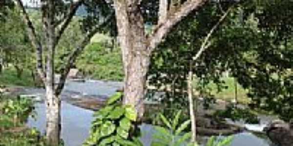 O rio no Vale Verde em Jiquiriça-BA-Foto:Marcelo S F