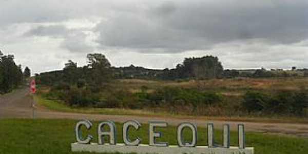Cacequi-RS-Trevo de Acesso-Foto:Sant' Anna
