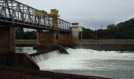 Cachoeira do Sul - Cachoeira do Sul-RS-Ponte de ferro sobre a Barragem do Fandango-Foto:PCRAPAKI