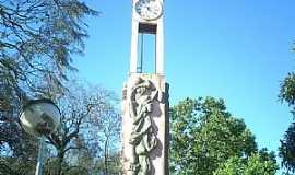 Cachoeira do Sul - Cachoeira do Sul-RS-Relógio da Praça-Foto:rosa guterres