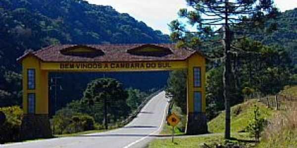 Cambará do Sul - Portal de Entrada
