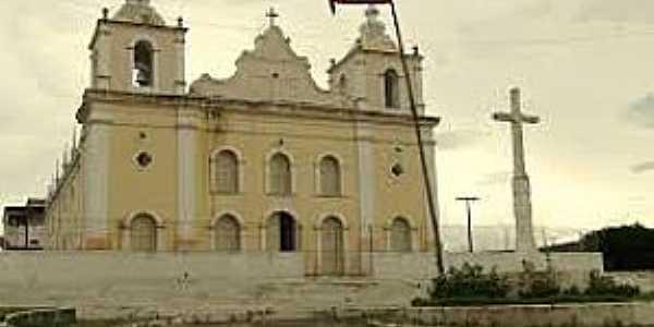 Jeremoabo-BA-Matriz de São João Batista-Foto:sertaodesencantado.blogspot.com