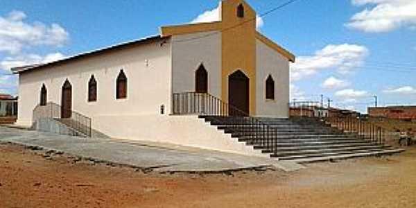 Jeremoabo-BA-Matriz de São Judas Tadeu-Foto:www.jeremoabo.com.br