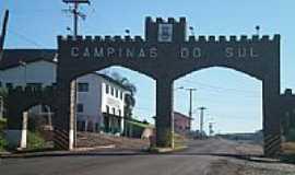 Campinas do Sul - Pórtico de entrada-Foto: eltonstrada