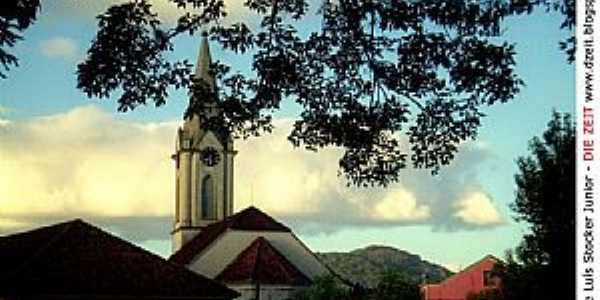 Campo Bom-RS-Igreja Luterana Três Reis Magos-Foto:Jorge Luís Stocker Jr.