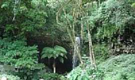 Campo Branco - Gruta e Cachoeira em Campo Branco-Foto:gionatannicolini