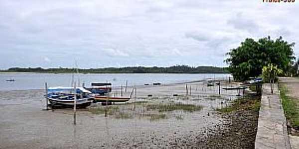 Jiribatuba-BA-Vista da praia-Foto:www.praias-360
