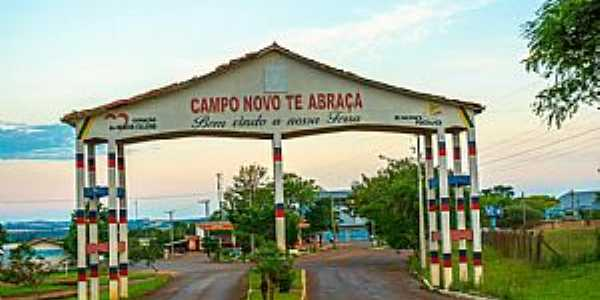 Imagens da cidade de Campo Novo - RS