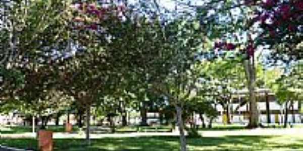 Campo Novo-RS-Praça Valentim Klein-Foto:Ubirajara Buddin Cruz