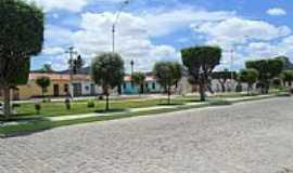 João Amaro - Praça em João Amaro-BA-Foto:iaçunoticias.com