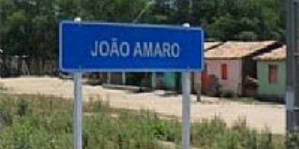 Entrada da cidade de João Amaro-BA-Foto:portalitaberaba.com