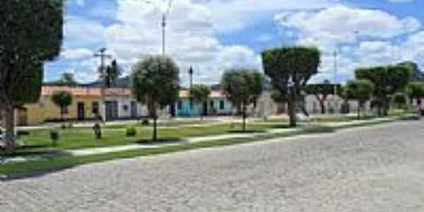 Praça em João Amaro-BA-Foto:iaçunoticias.com