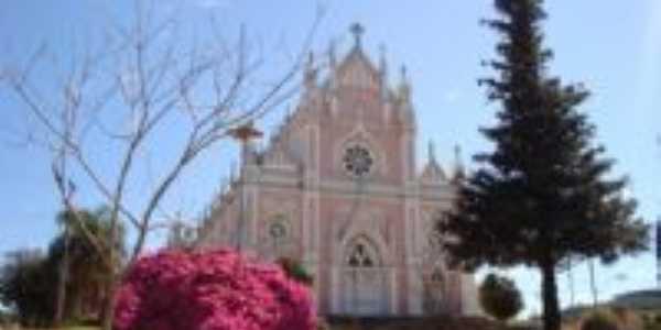 Vista da Praça e Igreja São Luiz, Por Lauro Finatto