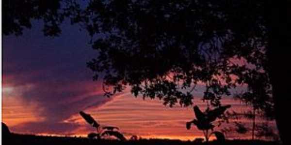 Cerro Alto-RS-Pôr do Sol-Foto:aguasantars.com.br