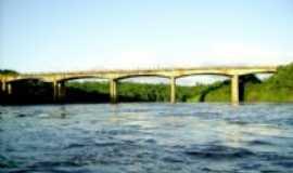 Cerro Largo - 2007.04.16-Ponte sobre rio Ijui, Por RICARDO BUSSE