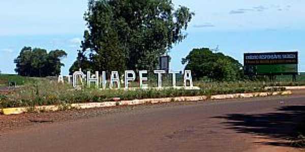 Chiapeta-RS-Entrada da cidade-Foto:mapio.net
