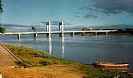 Juazeiro - Ponte Presidente Dutra em Juazeiro-Foto:Darciobc