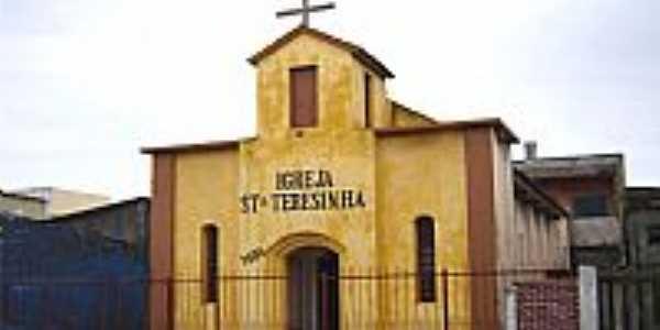 Chu�-RS-Igreja de Santa Teresinha do Menino Jesus-Foto:Vicente A. Queiroz