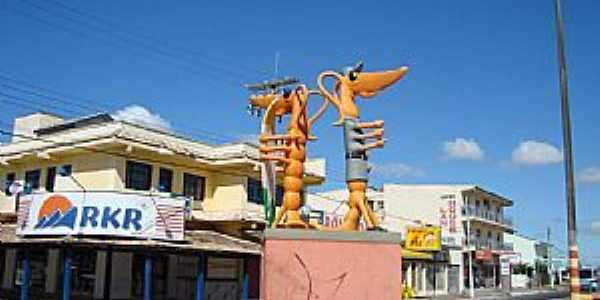 Cidreira-RS-Camarão indicativo-Símbolo da cidadeFoto:PCRAPAKI
