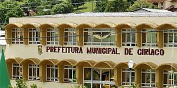Ciríaco-RS-Prefeitura Municipal-Foto:Fredy Silva