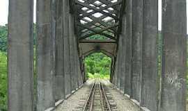 Clara - Clara-RS-Ponte Ferroviária sobre o Rio Toropi-Foto:alepolvorines