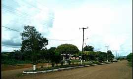 Clemente Argolo - Clemente Argolo-RS-Avenida na entrada da cidade-Foto:Ney Garm