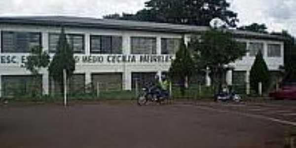 Escola Cecília Meireles em Coronel Bicaco-Foto:ceciliameirelesbicaco.