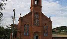 Coronel Pilar - Igreja São Lourenço Mártir-Foto:Lucas Daniel Fuchs