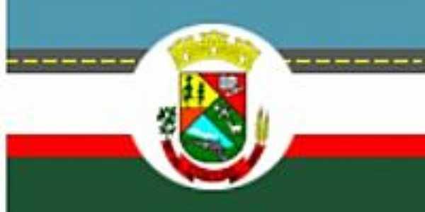 Bandeira da cidade de Coxilha-RS