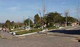 Cristal - Praça Os Pioneiros em Cristal-Foto:lourdinha