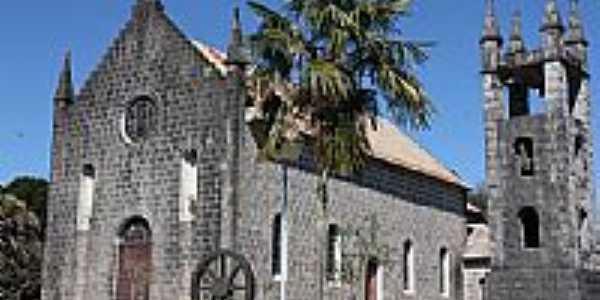 Criúva-RS-Igreja Matriz-Foto:SEDENIR TAUFER