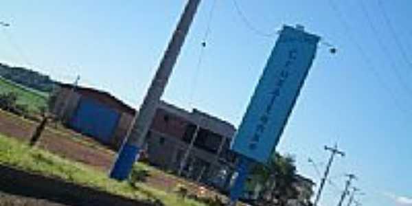 Entrada da cidade de Cruzaltense-RS-Foto:eltonstrada