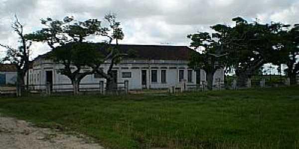 Curral Alto-RS-Antigo prédio na Rodovia BR-471-Foto:FrancoBras