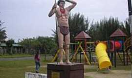 Curumim - Curumim-RS-Monumento ao Índio Curumim-Foto:gabriel.gomes