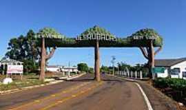 Derrubadas - Derrubadas-RS-Pórtico de entrada da cidade-Foto:Ubirajara Buddin Cruz