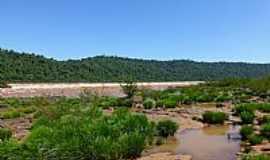 Derrubadas - Derrubadas-RS-Vista da extensão do Salto do Yacumã no Rio Uruguai-Foto:Ubirajara Buddin Cruz