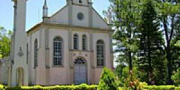 Igreja Evangélica Luterana de Dona Otília-Foto:Jeremias Wachholz