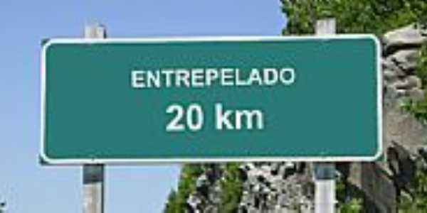 Entrepelado-RS-Placa de sinalização-Foto:carlosromero.com.br