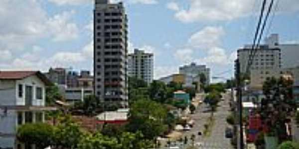Erechim-RS-Avenida central-Foto:Auri Brandão