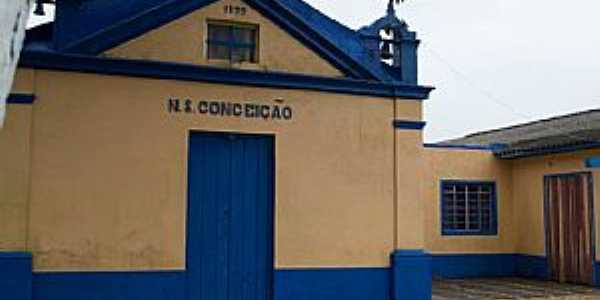 Estreito-RS-Igreja de  N.Sra.da Conceição-Foto:Ministério de Música Toque de Luz-Facebook